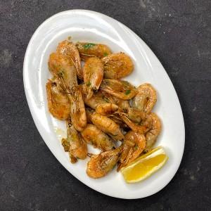 Креветки смажені